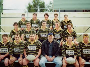 2nd Grade, 2000. <p>Back: Wayne Cusack, Mark van Bergen, Aaron Clingon, Simon Kerr, Bobby Young</p> <p>Middle: Ben Sheedy, Anthony Denison, Duncan Macaulay, Julian Howard, Andrew Sheedy</p> <p>Front: Lance Syme, Michael Solomons, Michael Bonaccorso, Peter Cook, Andrew Smith (C), Richard Barnes</p>